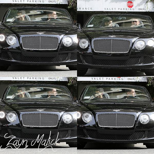 14.02 - Zayn à été vue à Los Angeles.
