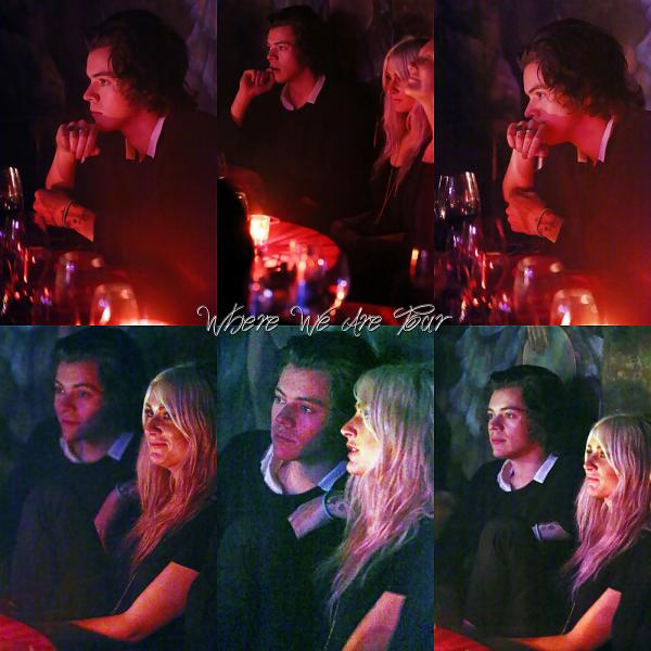 05.05 - Lou et Harry ont été vue à une soirée Tango en Argentine.