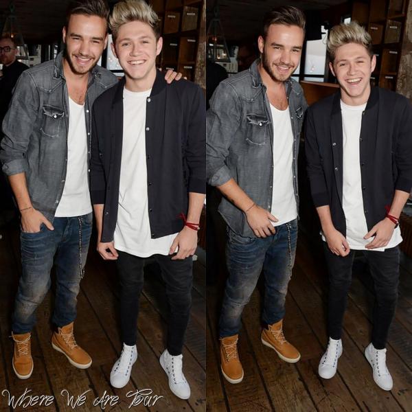 14.05 - Niall et Liam ont été vue à la soirée du lancement de David Beckham à Londres.