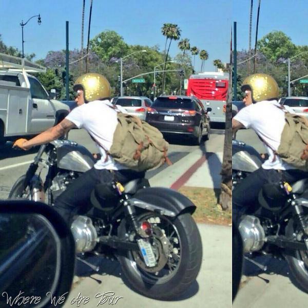 Harry à été vue aujourd'hui à L.A