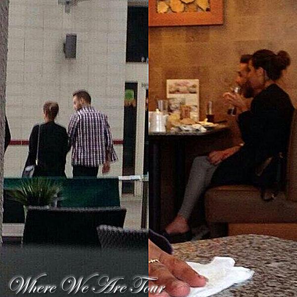 29.05 - Sophia et Liam ont été vue ensembles à Birmingham.
