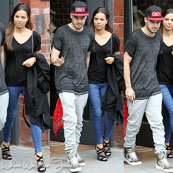 01.06 - Sophia, Liam et Niall ont été vue sortant de leurs hôtel à Manchester.