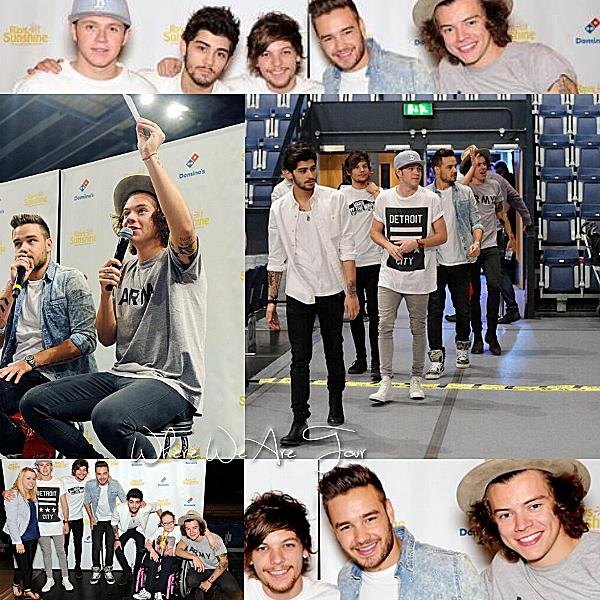 07.06- Les One Direction ont été avec des enfants pour l'association Ray Of Sunshine.