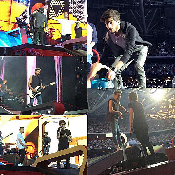 13.06 - Niall, Liam et Harry ont été sortant du Summerbust à Stockholm en Suède.