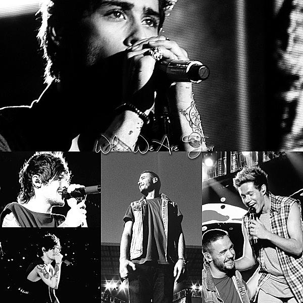 13.07 - Les One Direction interprétant leurs trente-huitième concert pour tournée le Where Are Tour au stade de Dragao à Porto au Portugal.