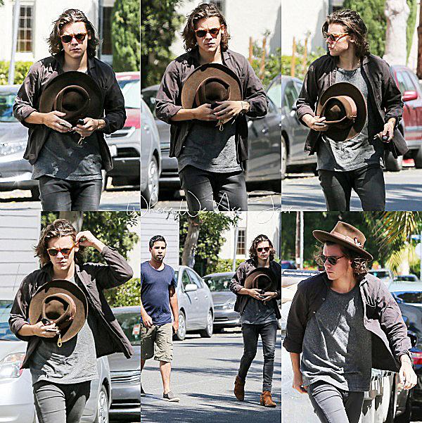 02.09 - Harry à était vue à L.A.