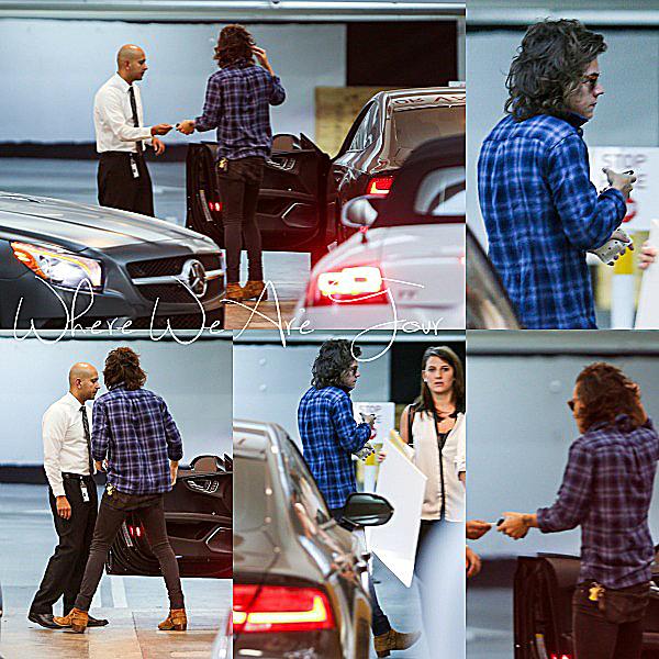 18.09 - Harry à été vue en allant dans un studio à LA.