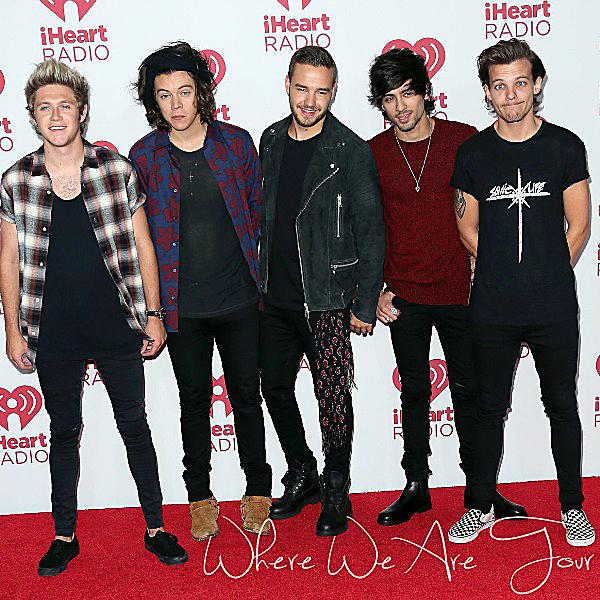 20.09 - Les One Direction ont été à la iHeartRadio Music Festival.