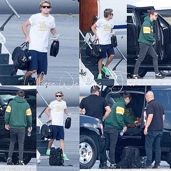 30.09 - Niall et Harry ont été vue en arrivant à Atlanta.