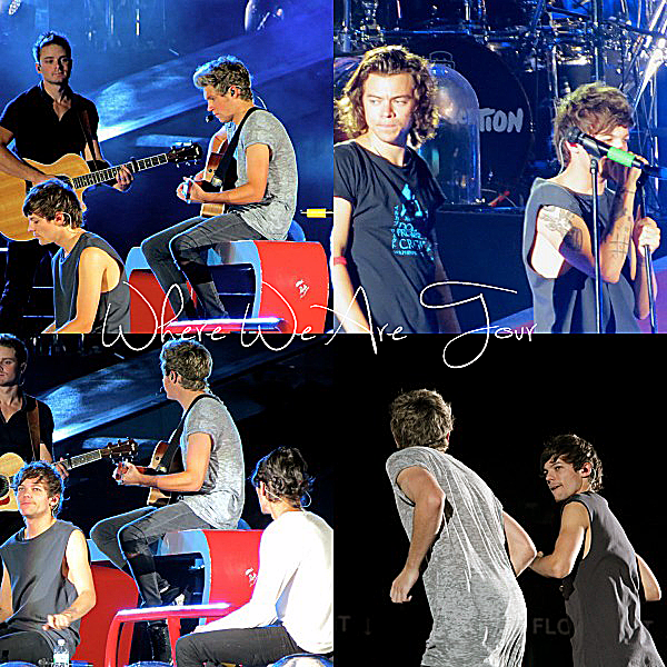 05.10 - les One Direction interprétant leurs soixante dit-septième concert pour la tournée Where We Are au stade de Sun Life à Miami.