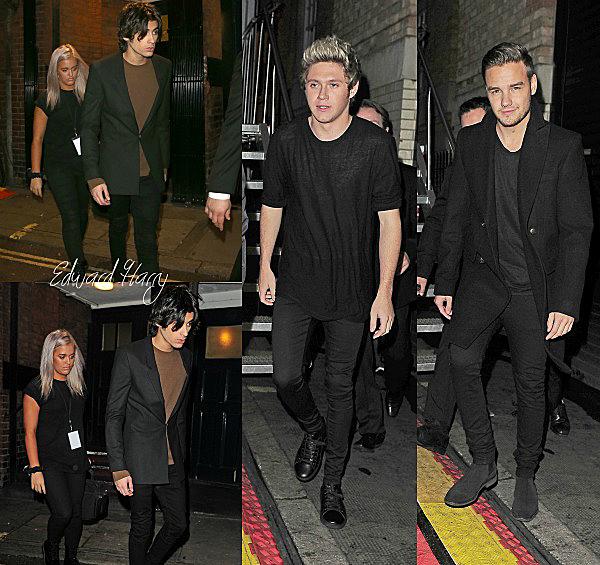 12.11 - Harry à été vue à l'extérieur des studios de X Factor à Hotting Hill à Londres.