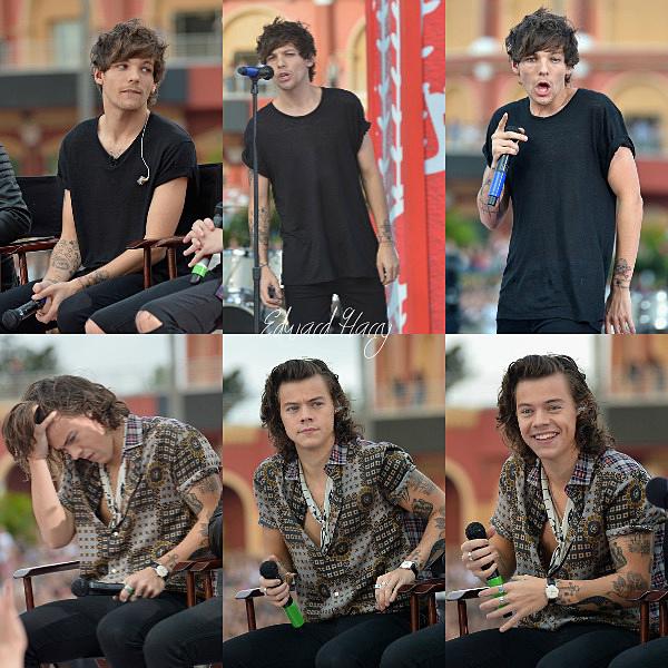 17.11 - Les One Direction ont fait leurs concert privé à Orlando pour le Today Show.
