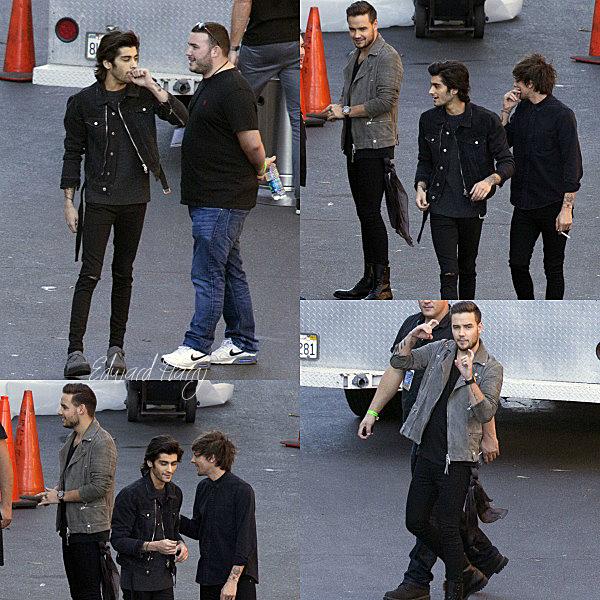 21.11 - Zayn, Liam, Louis et Eleanor ont été vue dans en allant des un studios à Los Angeles.