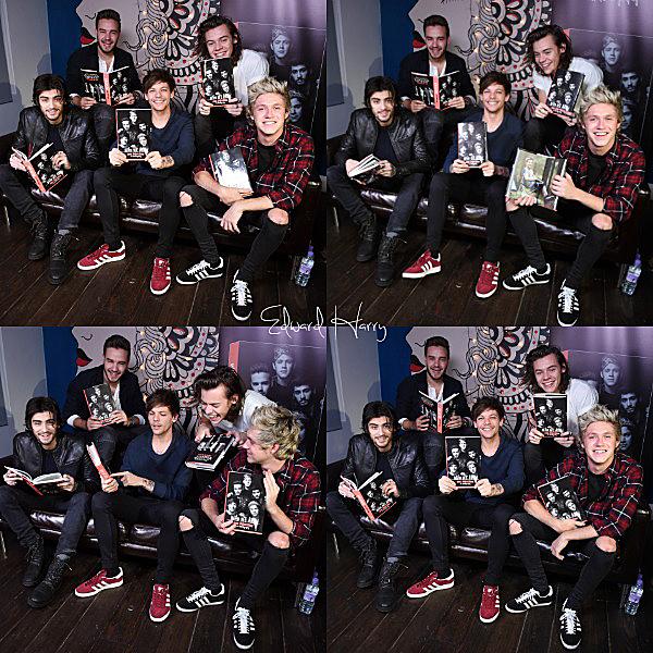 Les One Direction ont fait une interview pour ODE.