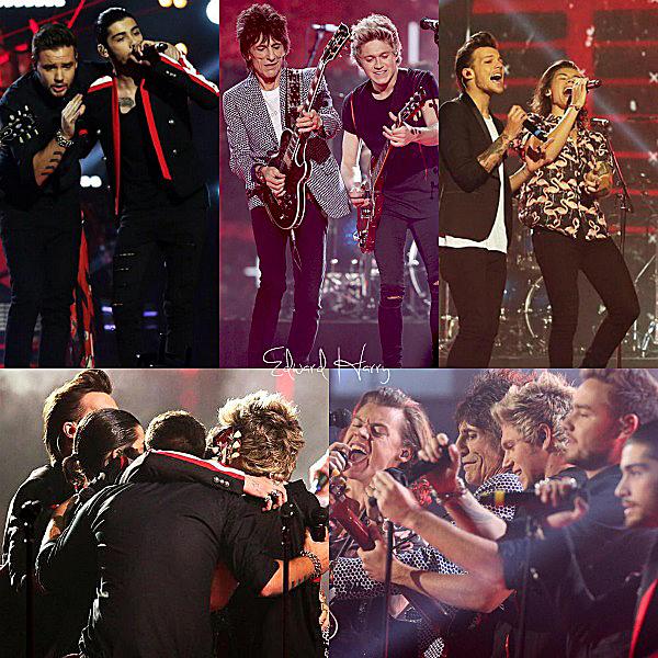 14.12 - Les One Direction ont été sur la plateau de X Factor UK pour la final.