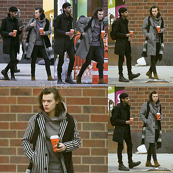 16.12 - Harry à été vue avec un ami à NY.