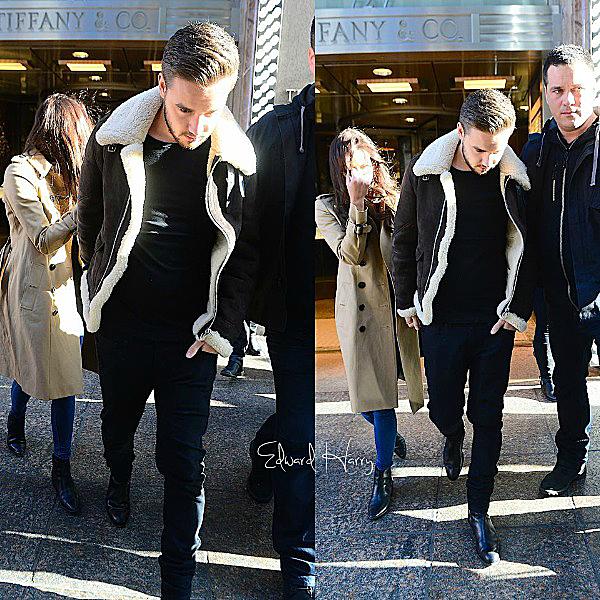 18.12 - Niall et Liam ont été vus en quittant leurs hôtel à Londres.