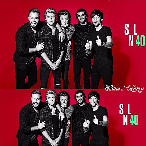Les One Direction à l'émission Jimmy Fallon + Photoshoot.