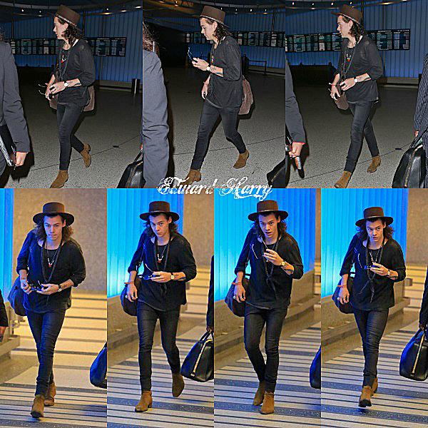 01.01 - Harry à été vue en arrivant à l'aéroport de Heathrow.