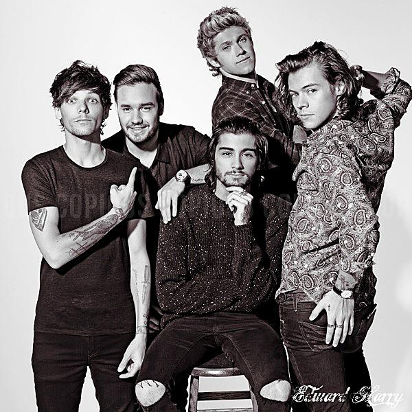 Les One Direction ont ont fait la couverture du magazine VIVI au Japon.