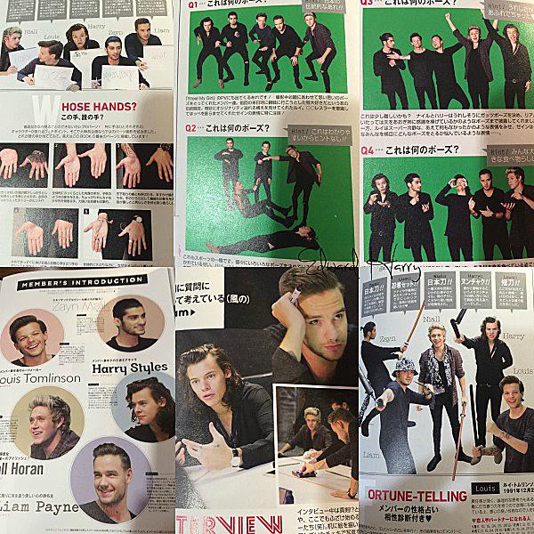 Découvrez les photos des boys dans le VIVI magazine au Japon.