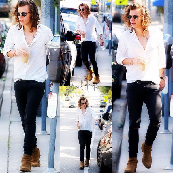 25.01 - Harry à été vue avec Jeff Azoff à Los Angeles.