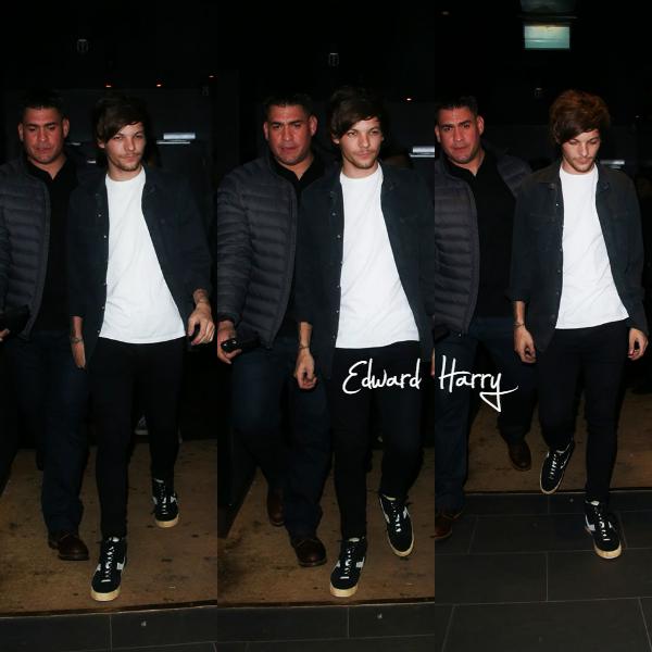 08.03 - Louis à été vue sortant de la boite  Chinawhite à Londres.