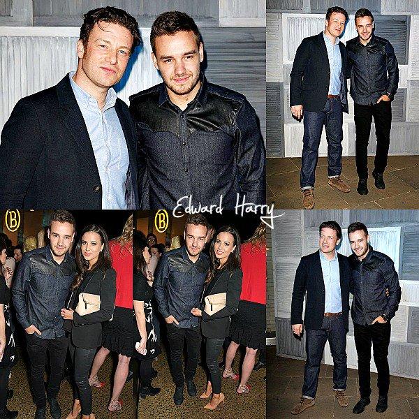 09.03 - Sophia et Liam ont été vue à l'anniversaire Kevin Systrom et Jamie Oliver à Londres.