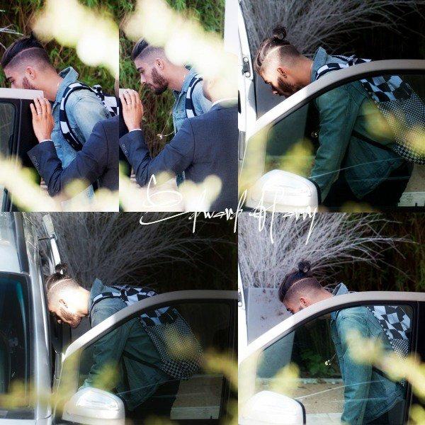 27.03 - Zayn à été vue quittant sa maison à Londres.