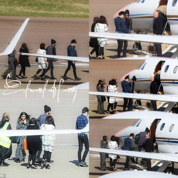31.03 - Perrie et Zayn ont été vus quittant leurs maison direction l'aéroport.