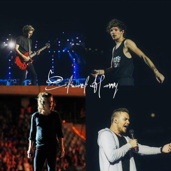01.04 - Les One Direction interprétant leurs vingt-deuxième concert pour tournée le On The Road Again à Le Cap en Afrique du Sud.