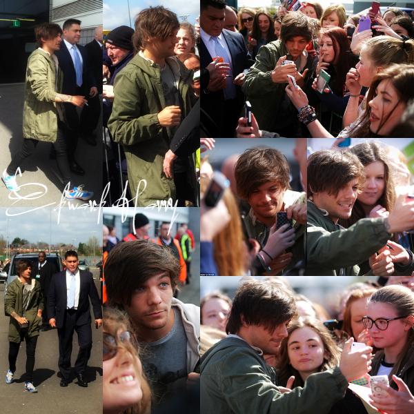 17.04 - Louis à été vue sortant de la boite Libertine à Londres.
