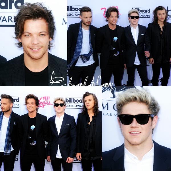 17.05 - Les One Direction aux Billboard Music Awards à Las Vegas.