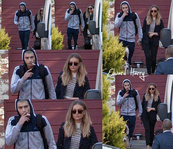 18.06 - Zayn et Perrie ont été vus quittant un domicile à Newcastle.