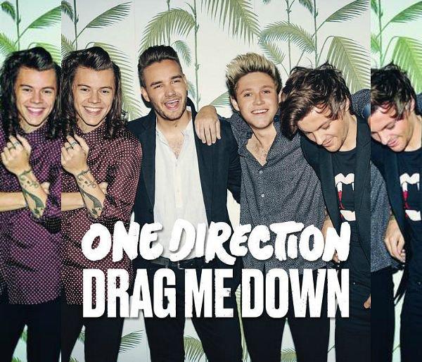 Découvrez le premier single du 5e albums : Drag Me Down !