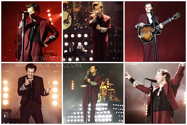18.03 - Niall en concert au SSE Armadillo de sa tournée 'Flicker ' à Glasgow - Angleterre :