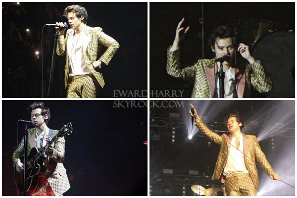 24.03 - Harry en concert au König Pilsener Arena de sa tournée 'Live On Tour' à Oberhausen - Allemagne :