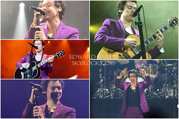 27.03 - Harry en concert au Olympiahalle de sa tournée 'Live On Tour' à Munich - Allemagne :