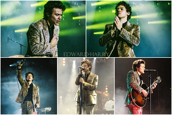 11.04 - Harry en concert au 02 Arena de sa tournée 'Live On Tour' à Londres - Angleterre :
