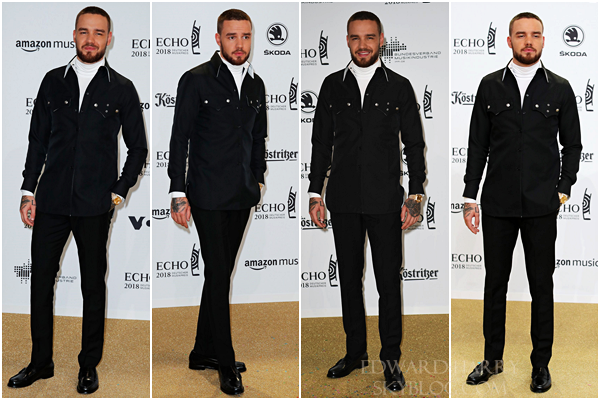 12.04 - Liam au ECHO Awards à Berlin - Allemagne :