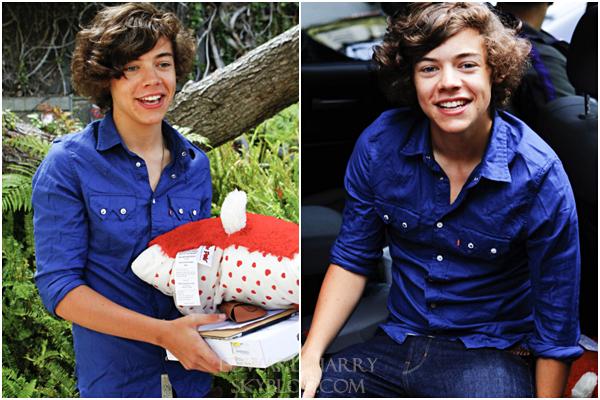 FLASH-BACK - 22.06.2011- Les One Direction dans les rues de Los Angeles :