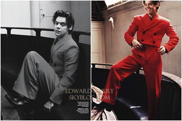 Photoshoot d'Harry pour GQ magazine Australie :