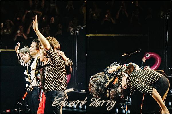 14.07 - Harry en concert au Forum II de sa tournée 'Live On Tour' à Los Angeles : Californie :