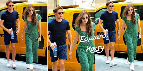 16.07 - Niall et Hailee Steinfeld à NY :