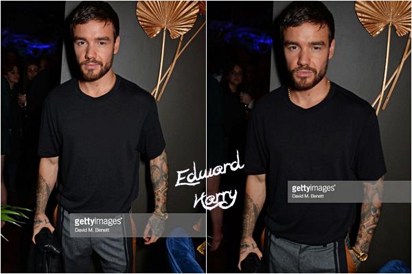 08.11 - Liam à la fête d'Edward Enninful pour sa première année en tant que rédacteur en chef de British Vogue - Londres :