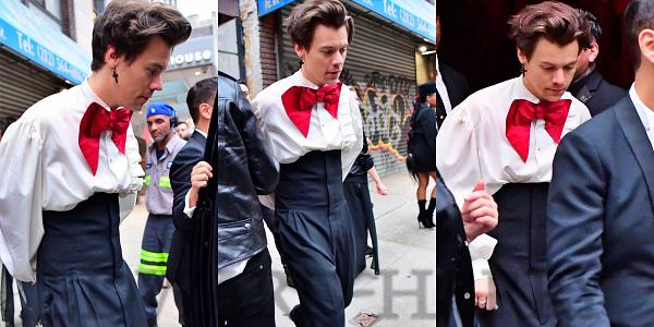 07.05- Harry sortant de l'after party de Gucci :