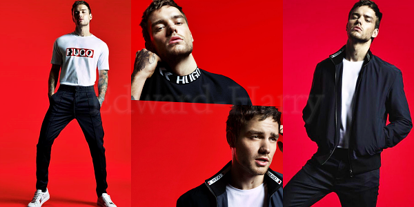 Liam pour la collection HUGO :