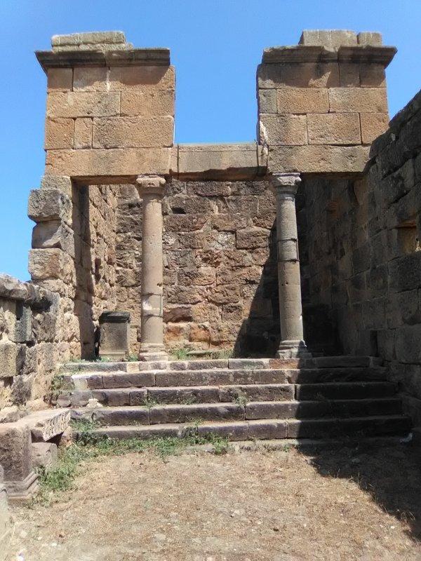 Visite au reine romaine