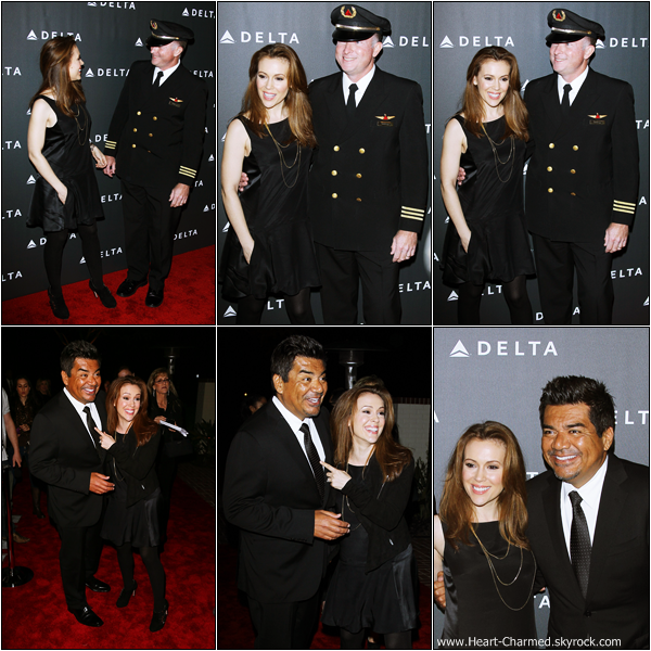 -     07/02/2013 : Alyssa au Delta Air Lines GRAMMY Celebration qui se déroulait à Los Angeles.  -