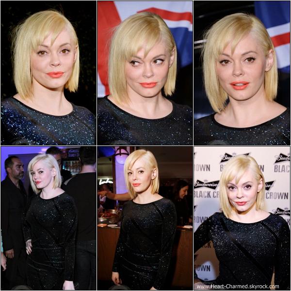 -     13/02/2013 : Rose à la soirée d'ouverture des magasins Topshop et Topman qui se déroulait à Los Angeles.  -